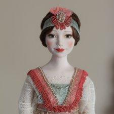 Авторская кукла Виктория