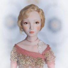 Авторская кукла Ванесса
