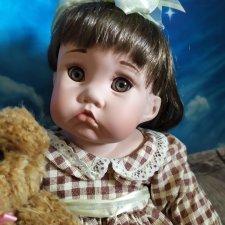 """Куколки из серии """"Маленькие товарищи по играм"""" автора Синди Рольф"""