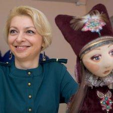 Текстильные куклы Ирины Голуб-Чеховской