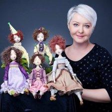 """Мастер-кукольник Надежда Цигановская: """"Я делаю кукол для того, чтобы радовать людей, а не себя"""""""