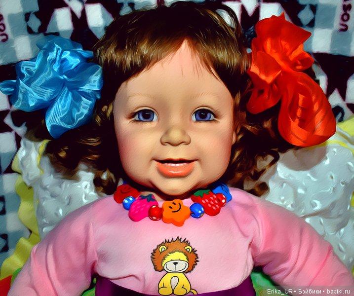 Лада, Adora-doll, baby-girl-doll, reborn-toddler, 22-inch