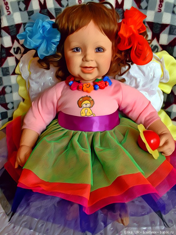 Лада, Adora-doll, baby-girl-doll, reborn-toddler, 22-inch