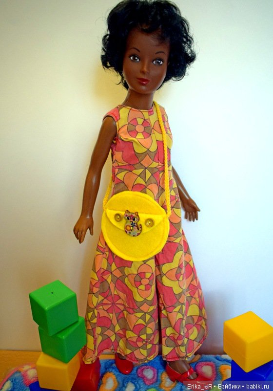 """Холли-Энн, vintage-doll, doll, 17"""", 1/4, 1974, by-Ideal-Toys, made-in-USA"""