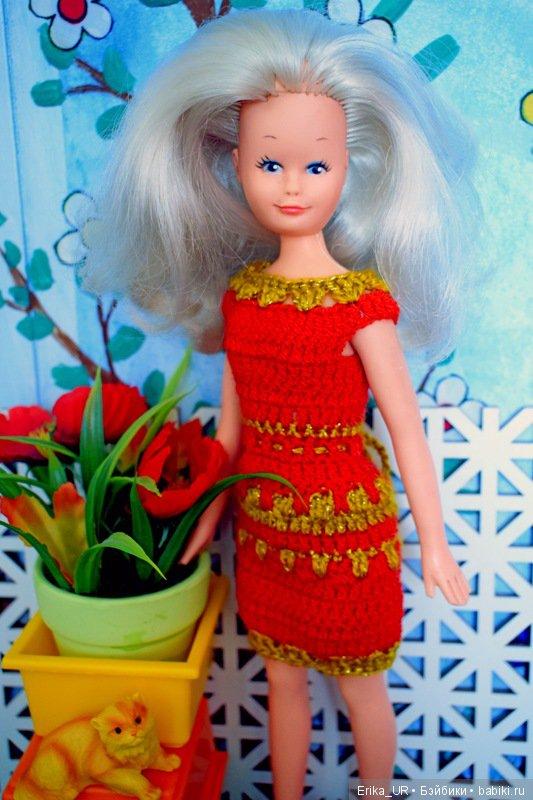 Франка, Franca, 30cm, 1/6, vintage-doll, 1970s, made-in-Italian