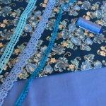 Продам излишки ткани и кружева для  изготовления кукольной одежды