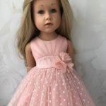 Продам праздничное нежное платье для девочек Готц