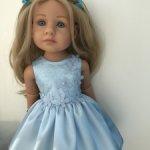 Продам платье для малышек Готц 36 см