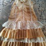 Платье для антикварной куклы, реплики