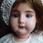 Антикварная кукла Рекнагель  НЮД