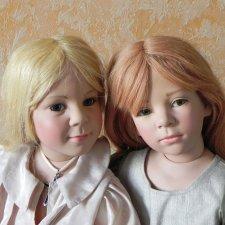 Подводим итоги. Часть 2. Куклы Элизабет Линднер. Феломена и Филипп