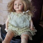 Ранняя обалденная прессопилочно-композитная кукла  Эффенбе  все родное!
