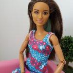Барби barbie 72 с голубыми волосами