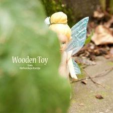 Лесная деревянная фея