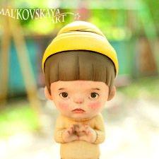 Деревянный мальчишка дарит вам свою любовь