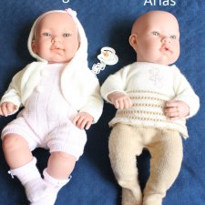 Сравнение испанских кукол MUNECAS Arias и Lamagik,  Magic Baby Dolls