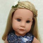 Нарядное платье для кукол Готц.