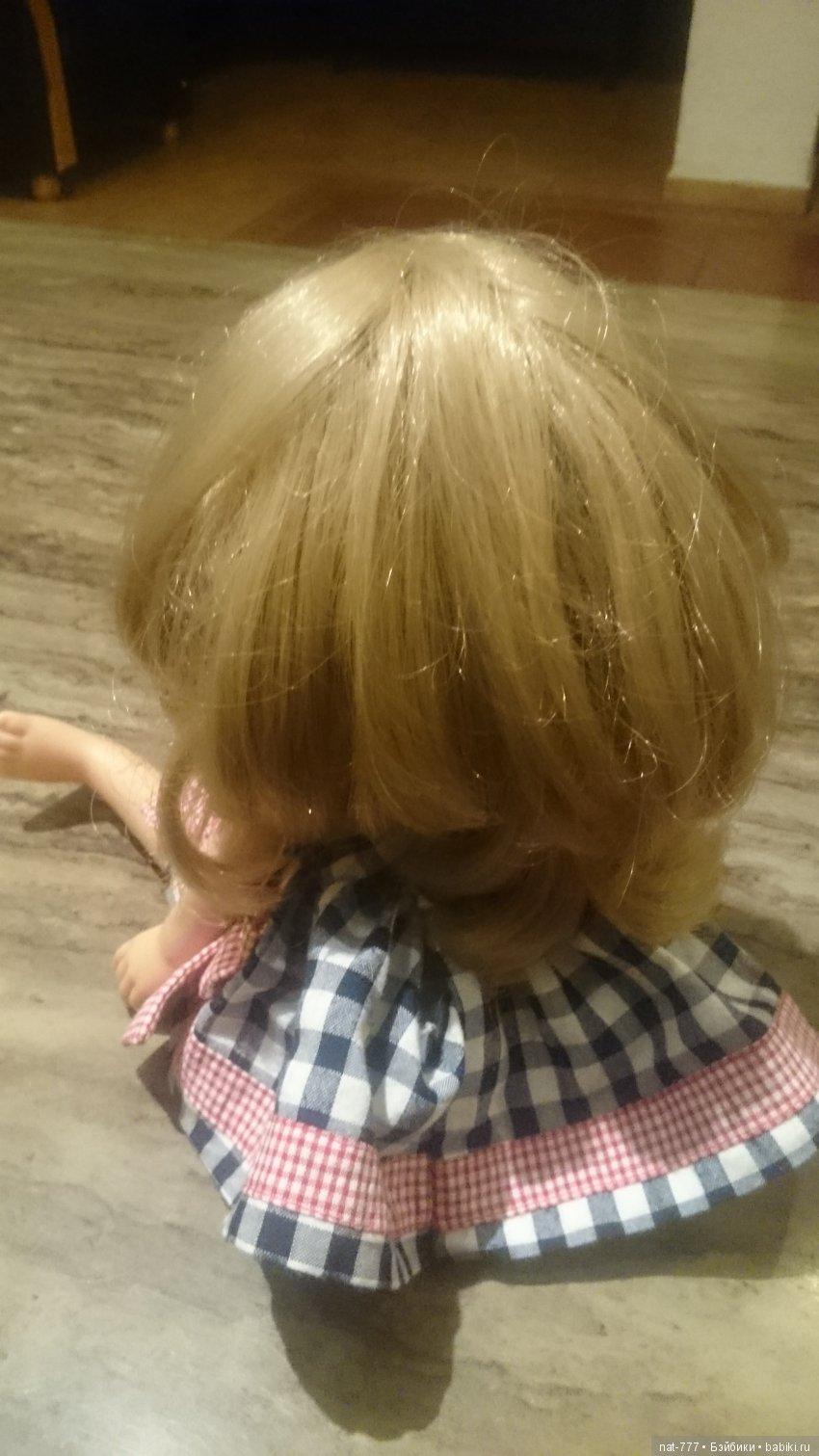 Много волос,отличная пршивка