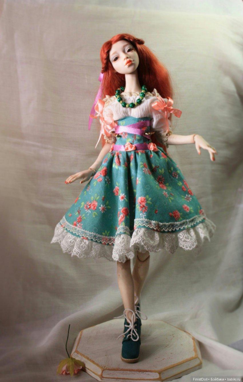 А вот и готовая куколка.