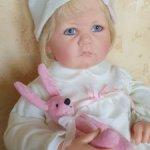 Изысканная малышка Nele Baby от   Hildegard Gunzel.Цена с доставкой!
