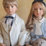 Шикарные близнецы : брат и сестра Sven и Svantje от Vera Scholz и WPM. С доставкой!