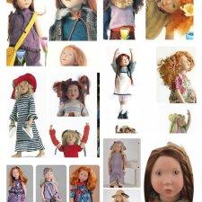 Молды Zwergnase junior 50 см кукол. Часть 1. Молды 01-13 или 2003 - 2015 гг