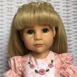 Нарядное платье для кукол Готц (48см)