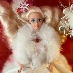 Барби 90 Barbie happy holidays 1989