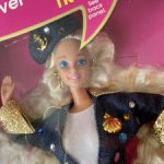 Барби 90 Barbie super talk