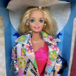 Барби 90 international travel Barbie