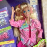 Барби 90 Barbie paint n dazzle