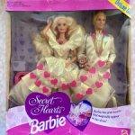 Барби 90 Barbie secret hearts deluxe set