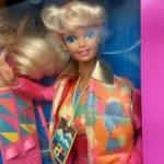 Барби 90 Barbie ski fun