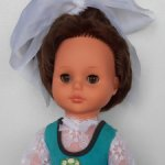 Кукла ГДР, SONNI, редкая, рост 45 см.