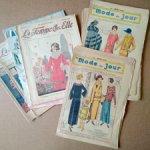 Старинные журналы вязание, вышивка, мода 1923-1924 года
