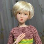Авторская кукла « Misha»