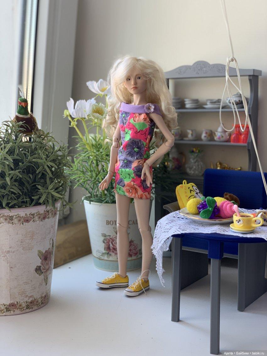 В одежде от Барби