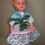 Кукла Гдр,малышка с рельефными волосами,Тебу?