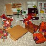 Мебель Гдр для кукол ,пупсиков,пересылка в цене.