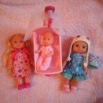 Кукла Еви с колыбелью и пупс zapf creation chou chou Шу-Шу Джеки