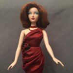 кукла коллекционная GENE MARSHALL RED VENUS, Ashton Drake, новая
