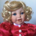 Кукла коллекционная новая Santa Baby от Marie Osmond / Мари Осмонд (717/ 5000 шт)