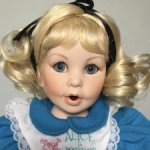 Коллекционная кукла Baby Alice in Wonderland от Marie Osmond
