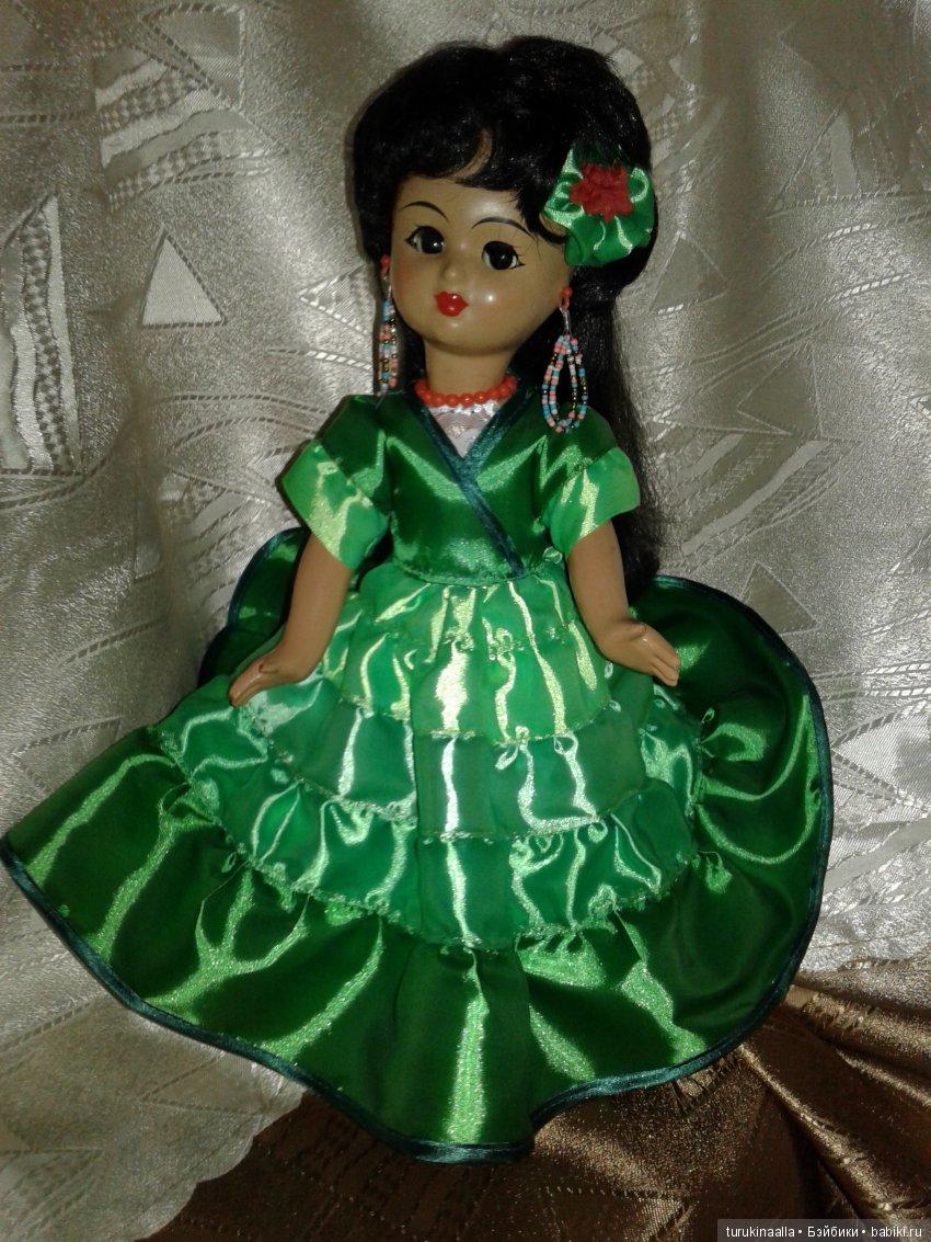 Цыганочка Зара...одежда многослойная с нуля...родные бусы и цветок