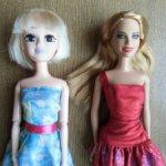 Две игровые куколки лотом.