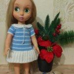 Два платья для кукол Дисней аниматорс