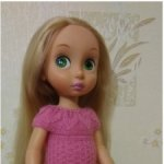 Розовое платье для Дисней аниматорс
