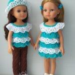 Большая распродажа кукольных одежек