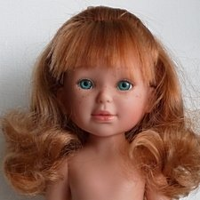Паулина, рыжулька с волнистыми волосами, от Vestida de Azul