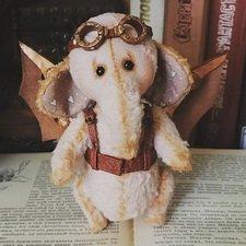 """""""Винтажный"""" стимпанк слоник."""